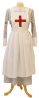 1940's Matron Nurse Costume (Grey)